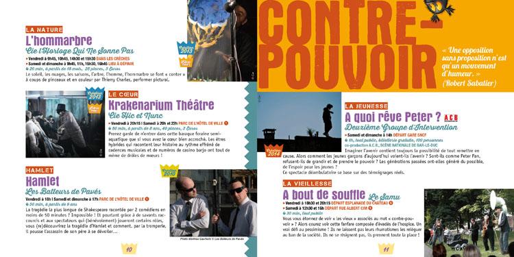 Programme Festival RenaissanceS 2014