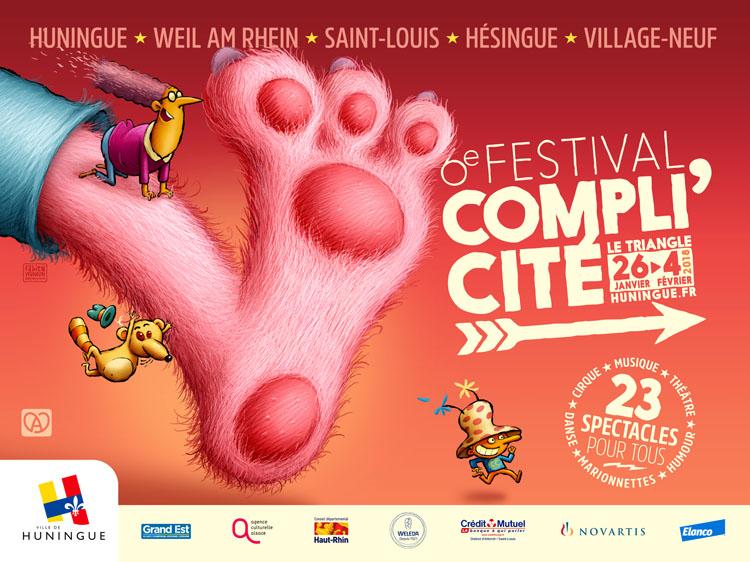 Festival Compli'Cité Huningue 2018