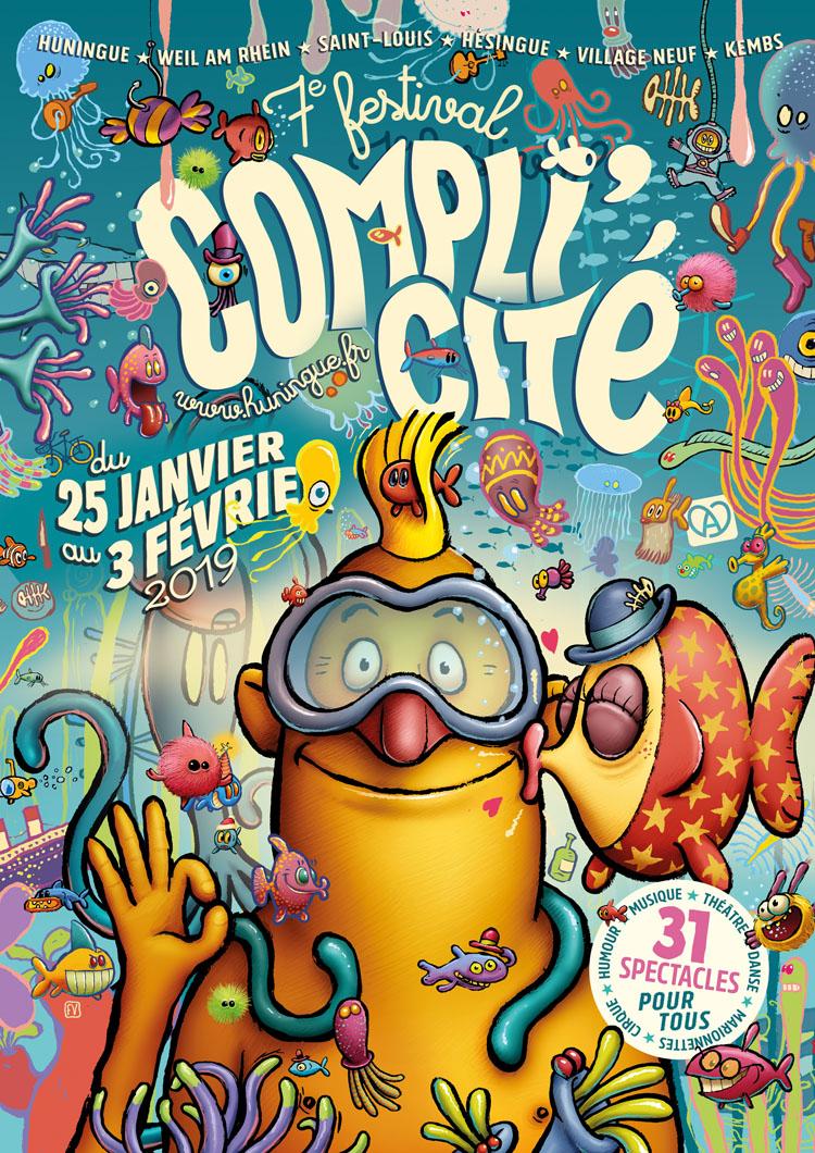 Festival Compli'Cité Huningue 2019