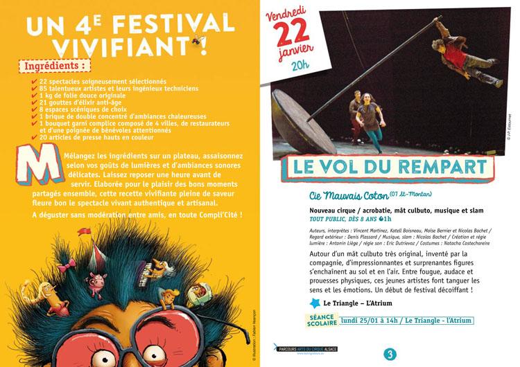Festival Compli'Cité programme