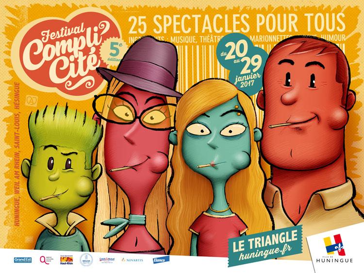 Festival Compli'Cité Huningue 2017