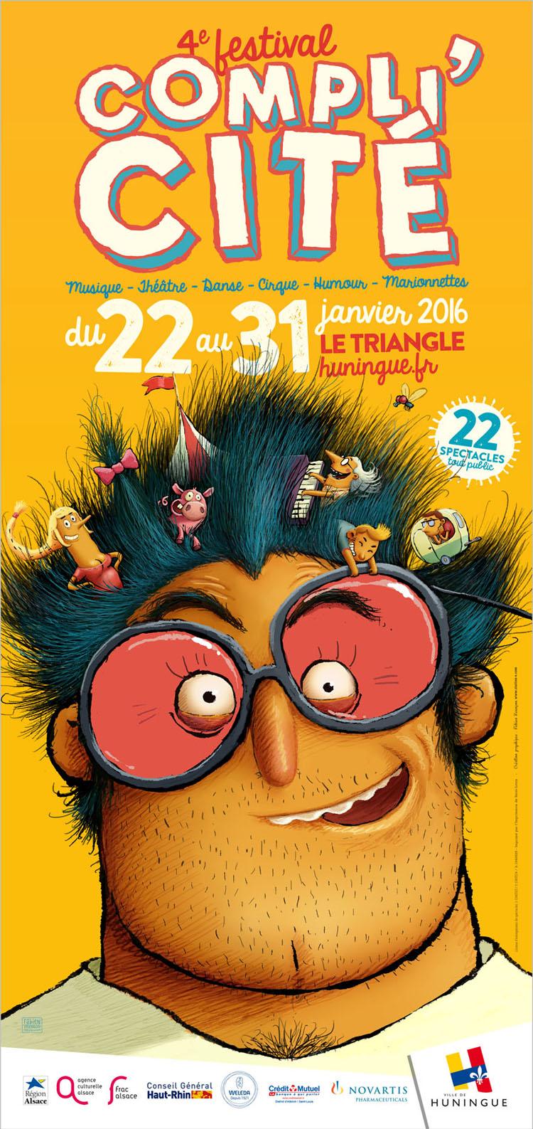Festival Compli'Cité Huningue 2016