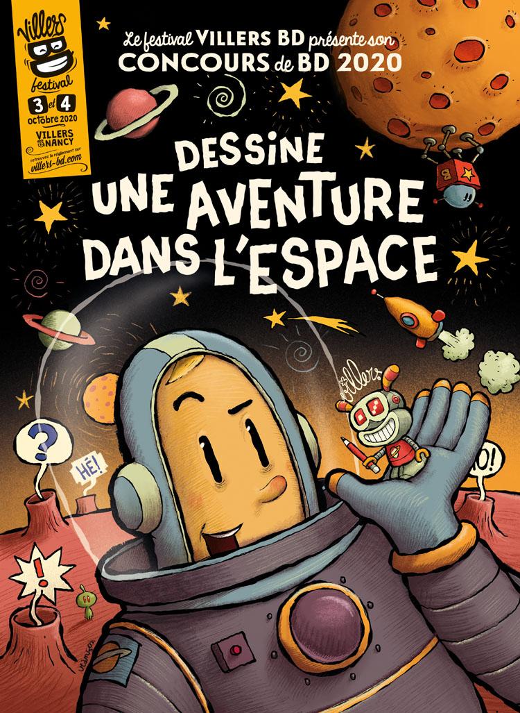 Concours Villers BD 2020 sur Mars