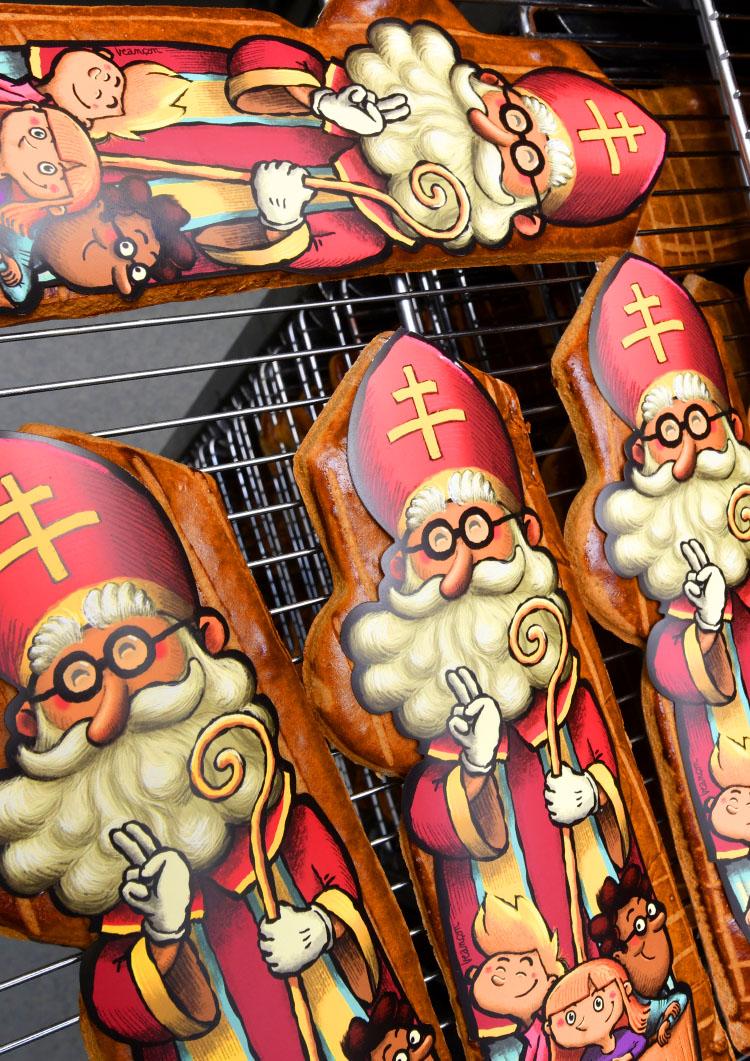 Pain d'épices Saint Nicolas Experts Pâtissiers de Lorraine
