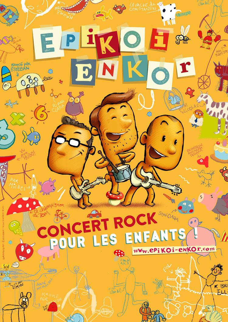 Epikoi Enkor : l'affiche