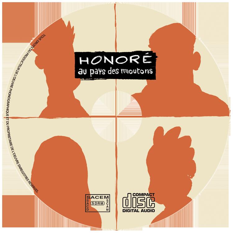 Honoré : le CD